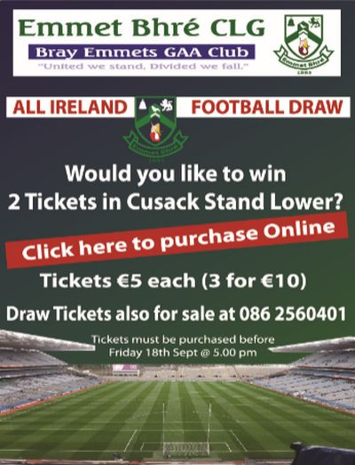 All -Ireland Draw 2015 BE