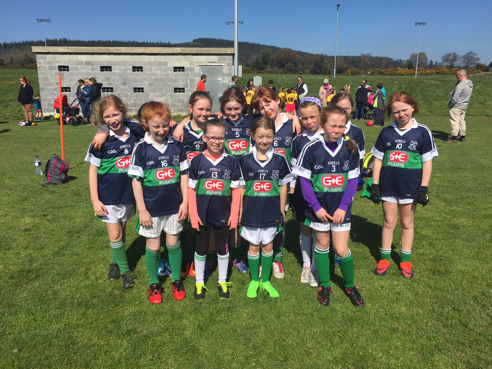 U10 Girls Football 2017